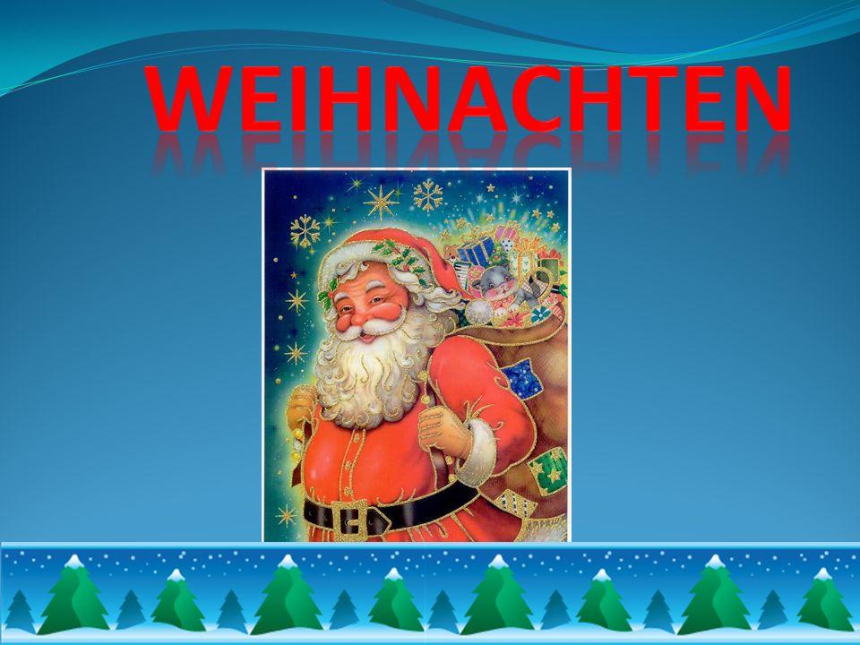 W Niemczech przygotowania do świąt zaczynają się już na 4 tygodnie przed Wigilią- w pierwszą niedzielę adwentu.