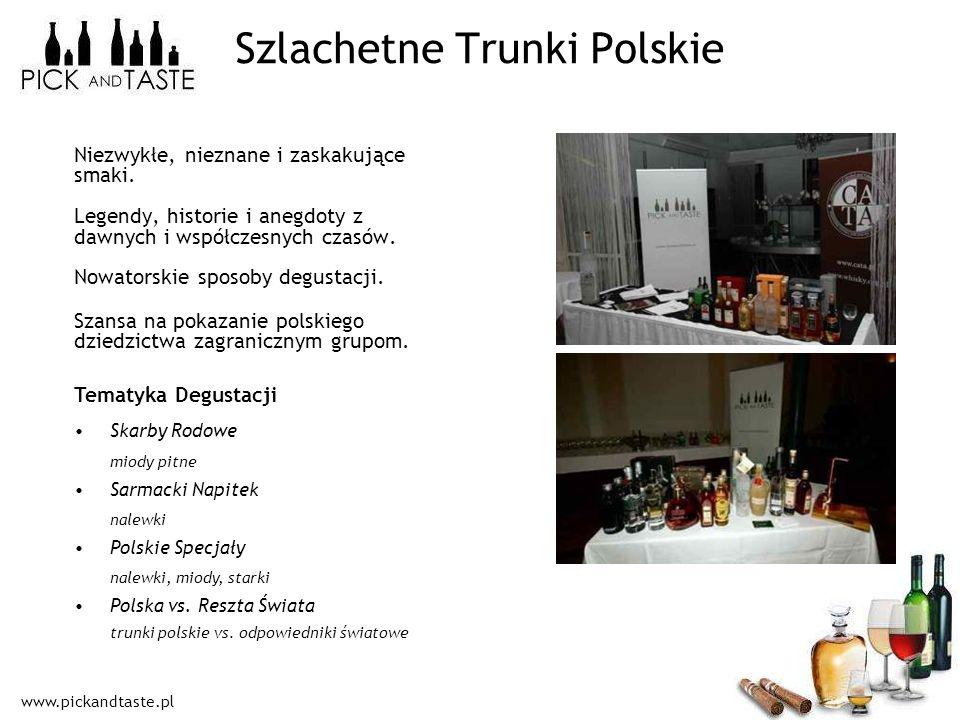 www.pickandtaste.pl Niezwykłe, nieznane i zaskakujące smaki. Legendy, historie i anegdoty z dawnych i współczesnych czasów. Nowatorskie sposoby degust