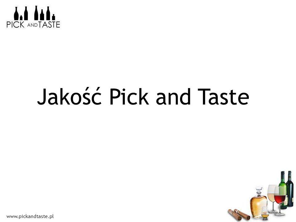 www.pickandtaste.pl Jakość Pick and Taste