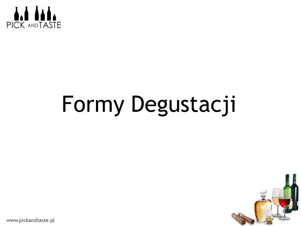 www.pickandtaste.pl Formy Degustacji