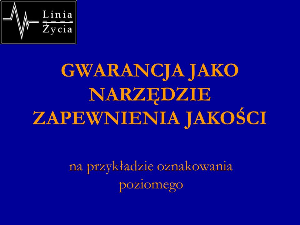 Plan wystąpienia 1.Wstęp 2.Pozorna sprzeczność interesów w obszarze gwarancji 3.Parametry podlegające gwarancji.