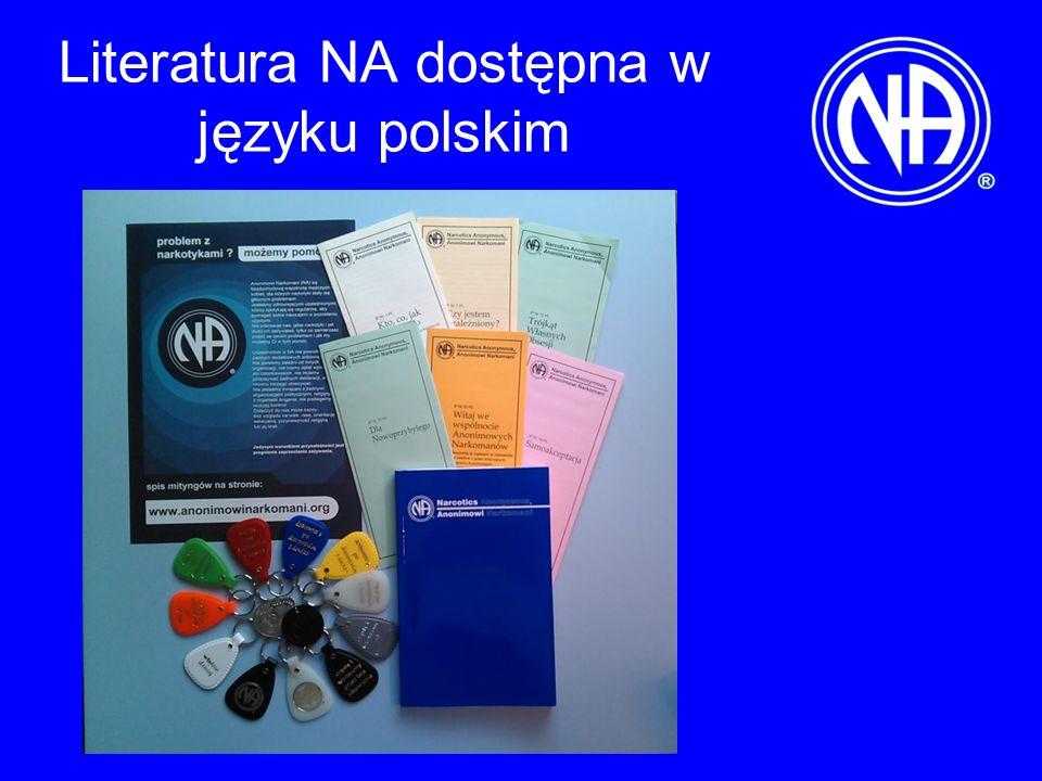 Literatura NA dostępna w języku polskim