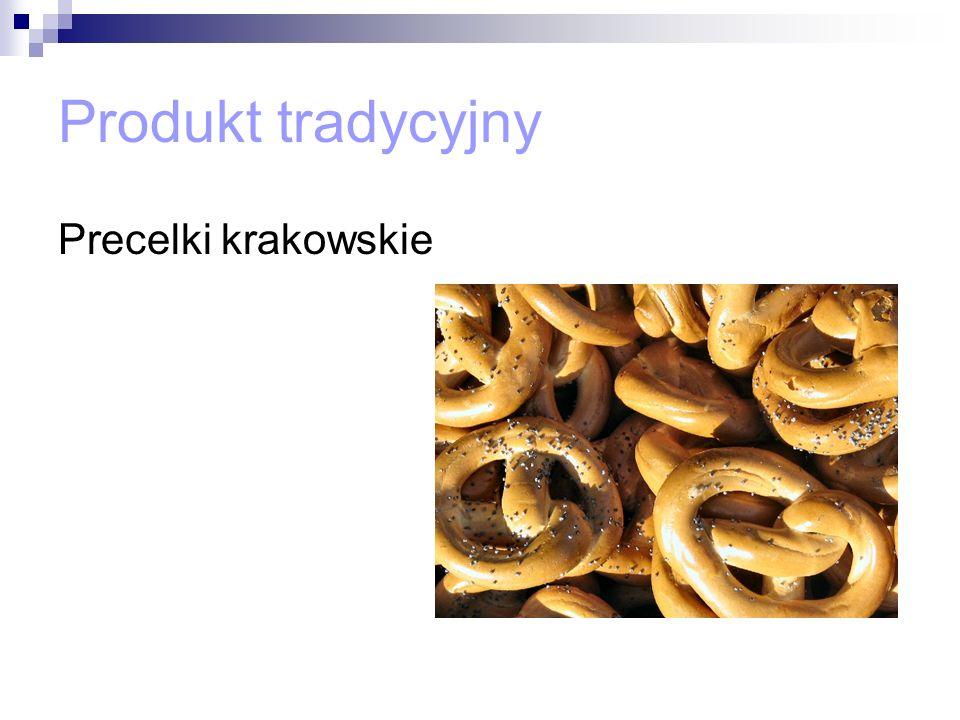Produkt tradycyjny Precelki krakowskie