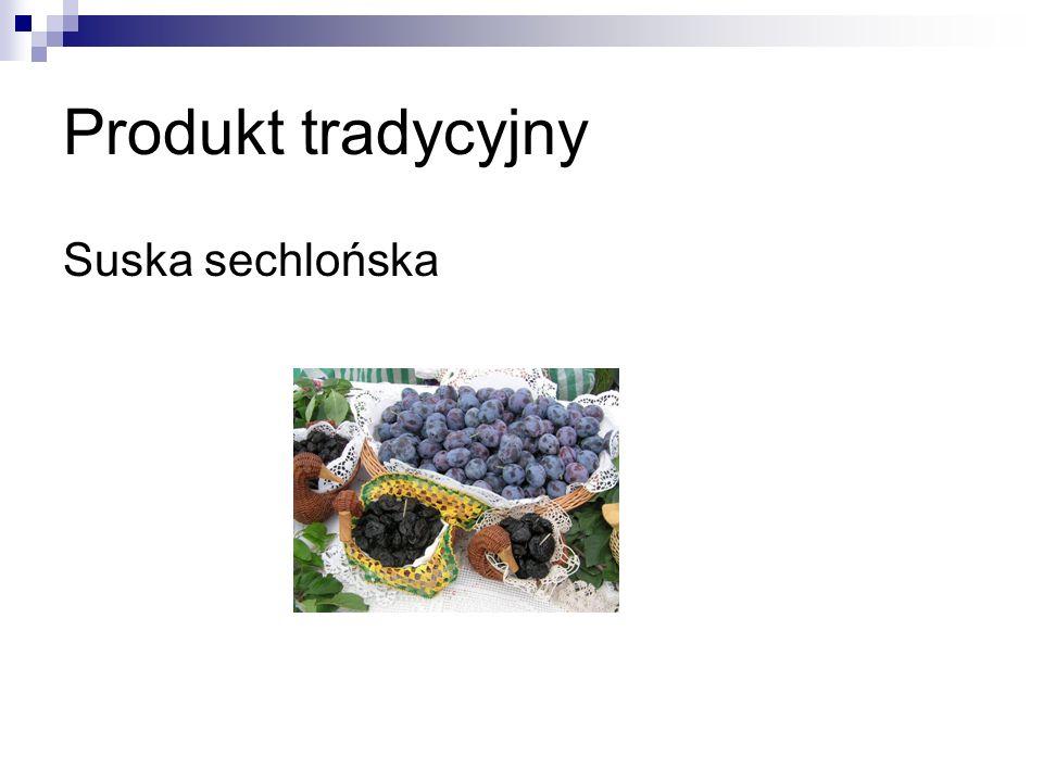 Produkt tradycyjny Suska sechlońska
