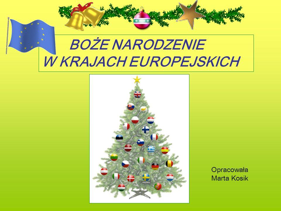 Wielka Brytania Anglicy nazywają Boże Narodzenie – Christmas.