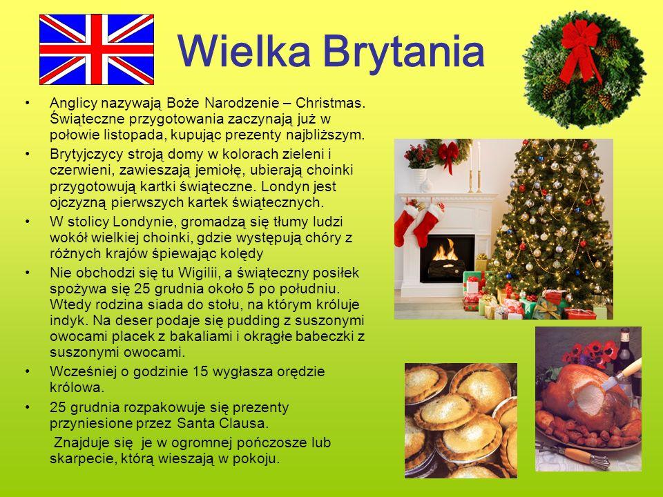 Wielka Brytania Anglicy nazywają Boże Narodzenie – Christmas. Świąteczne przygotowania zaczynają już w połowie listopada, kupując prezenty najbliższym