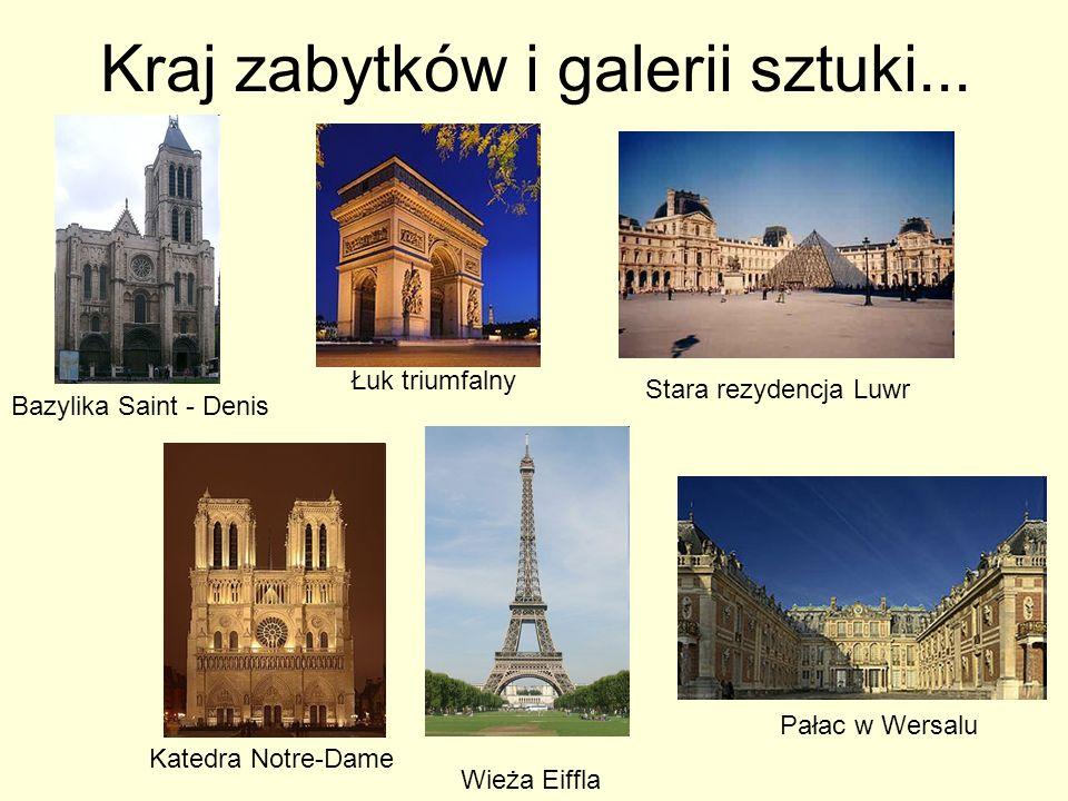 Kraj zabytków i galerii sztuki...