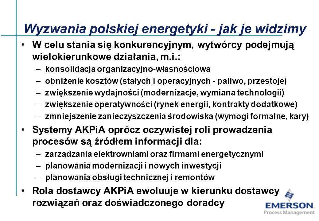27-Jun-01, Slide2 Wyzwania polskiej energetyki - jak je widzimy W celu stania się konkurencyjnym, wytwórcy podejmują wielokierunkowe działania, m.i.:
