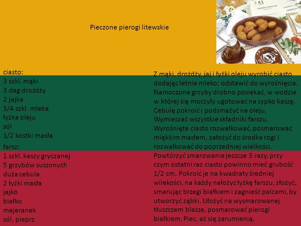 Litwa Ponieważ wielkie księstwo litewskie zamieszkiwali ludzie różnej kultury i tradycji (ukraińskiej, polskiej, tatarskiej, białoruskiej oraz żydowsk