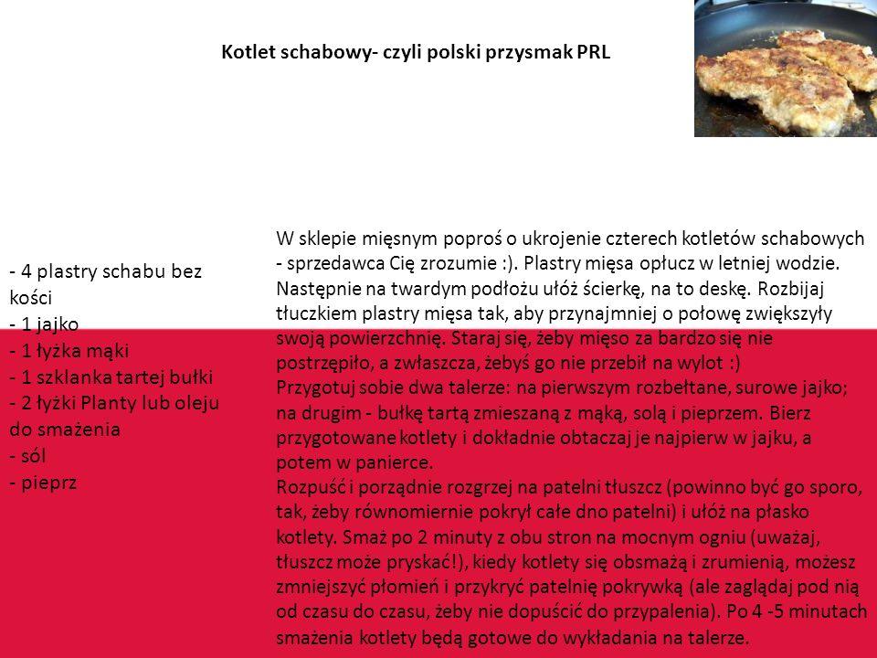 Polska Nasza rodzima… Obecnie za granicami jak i w samej Polsce nasza kuchnia kojarzy się z kotletem mielonym ziemniakami i burakami ale tak naprawdę