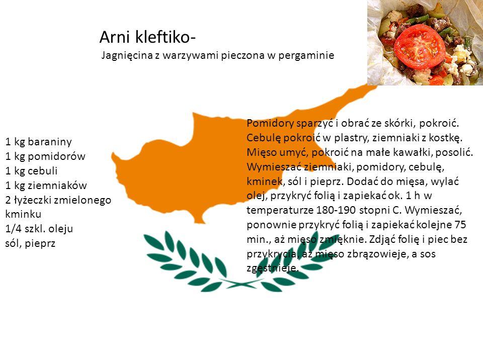Cypr To połączenie kuchni greckiej i tureckiej.
