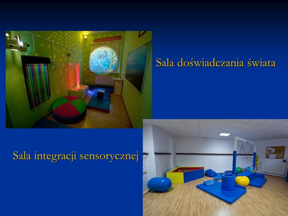 Sala doświadczania świata Sala integracji sensorycznej