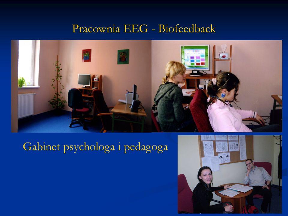 Pracownia EEG - Biofeedback Gabinet psychologa i pedagoga