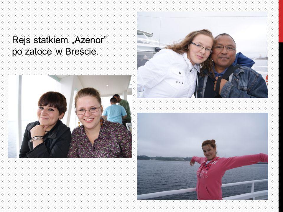 Rejs statkiem Azenor po zatoce w Breście.