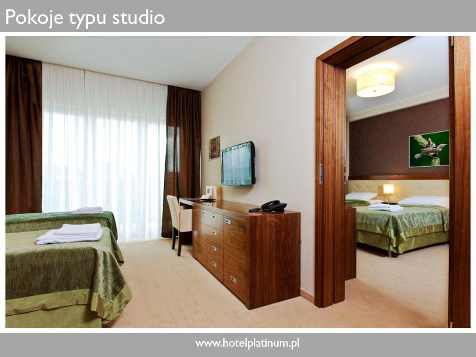www.hotelplatinum.pl Pokoje typu studio