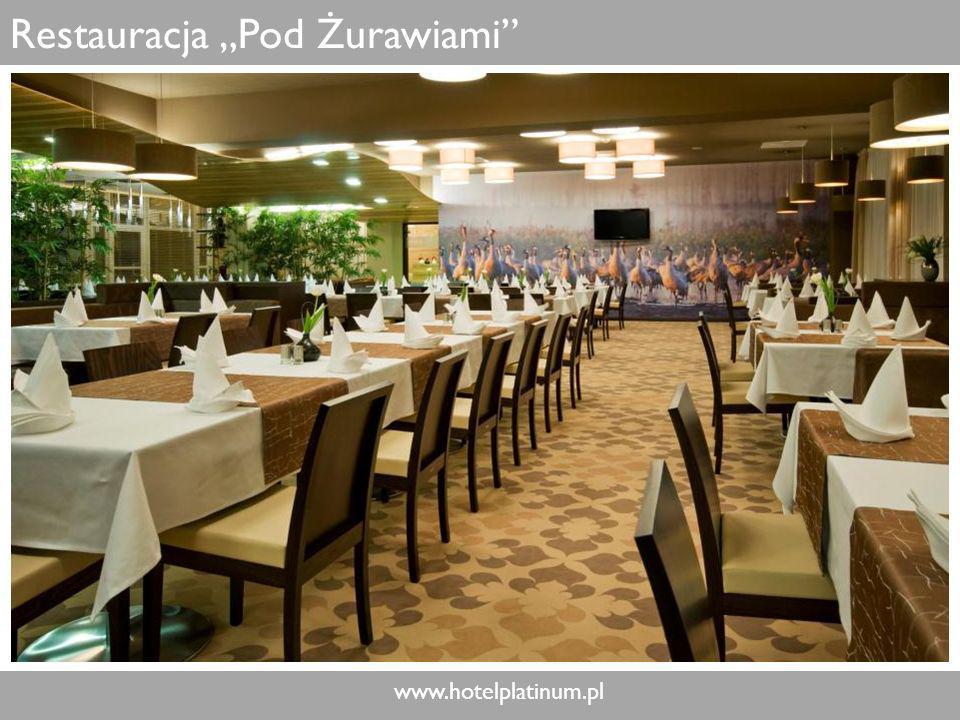 www.hotelplatinum.pl Restauracja Pod Żurawiami