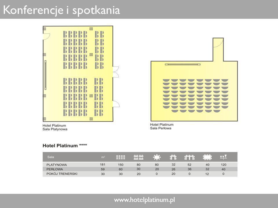 www.hotelplatinum.pl Konferencje i spotkania