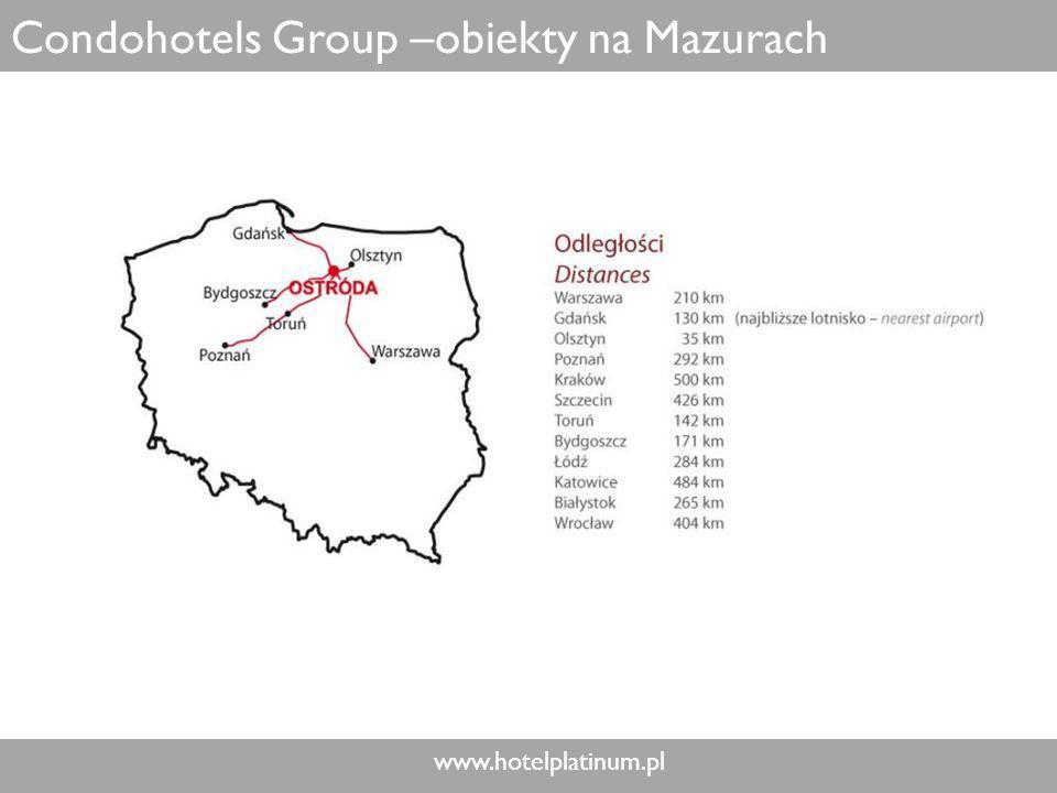 Condohotels Group –obiekty na Mazurach