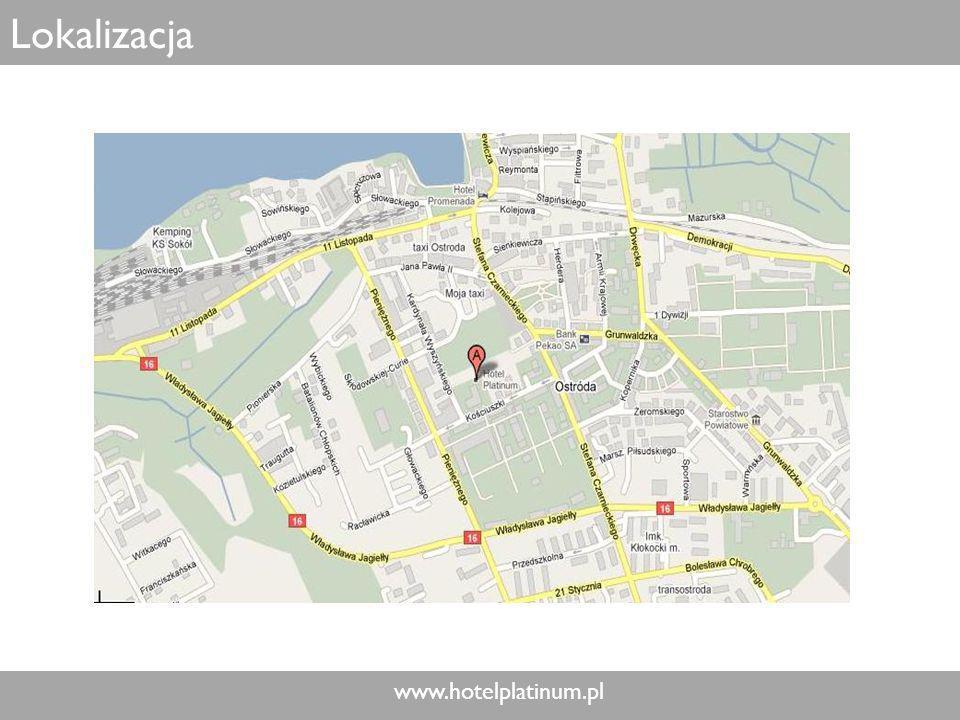 www.hotelplatinum.pl Lokalizacja