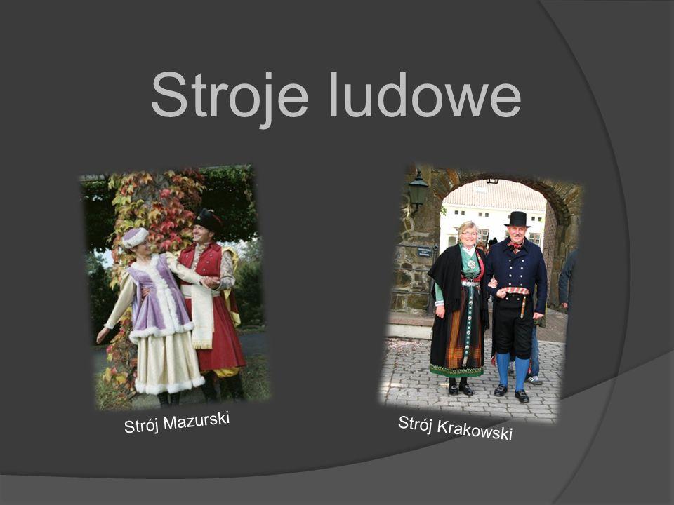 Stroje ludowe Strój Mazurski Strój Krakowski