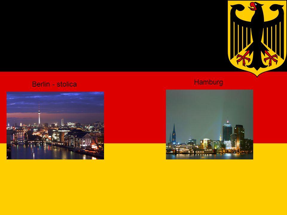 Duże miasta Berlin - stolica Hamburg