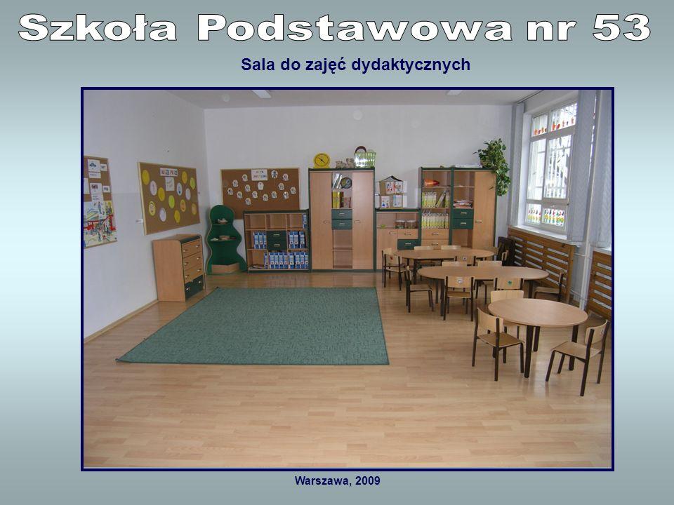 Warszawa, 2009 Sala rekreacyjna