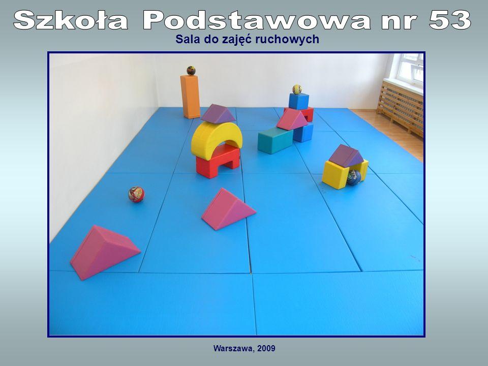 Warszawa, 2009 Plac zabaw