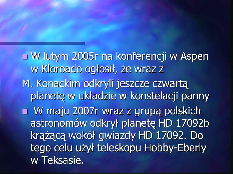 Laureat licznych nagród, m.in.Fundacji Nauki Polskiej, Fundacji A.Jurzykowskiego.