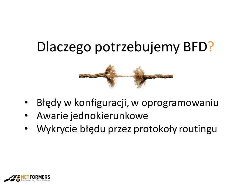 Dlaczego potrzebujemy BFD.