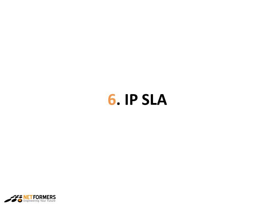 6. IP SLA