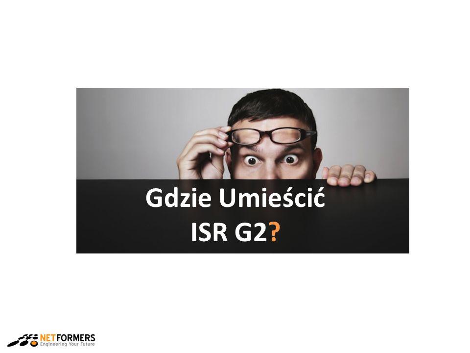 Gdzie Umieścić ISR G2