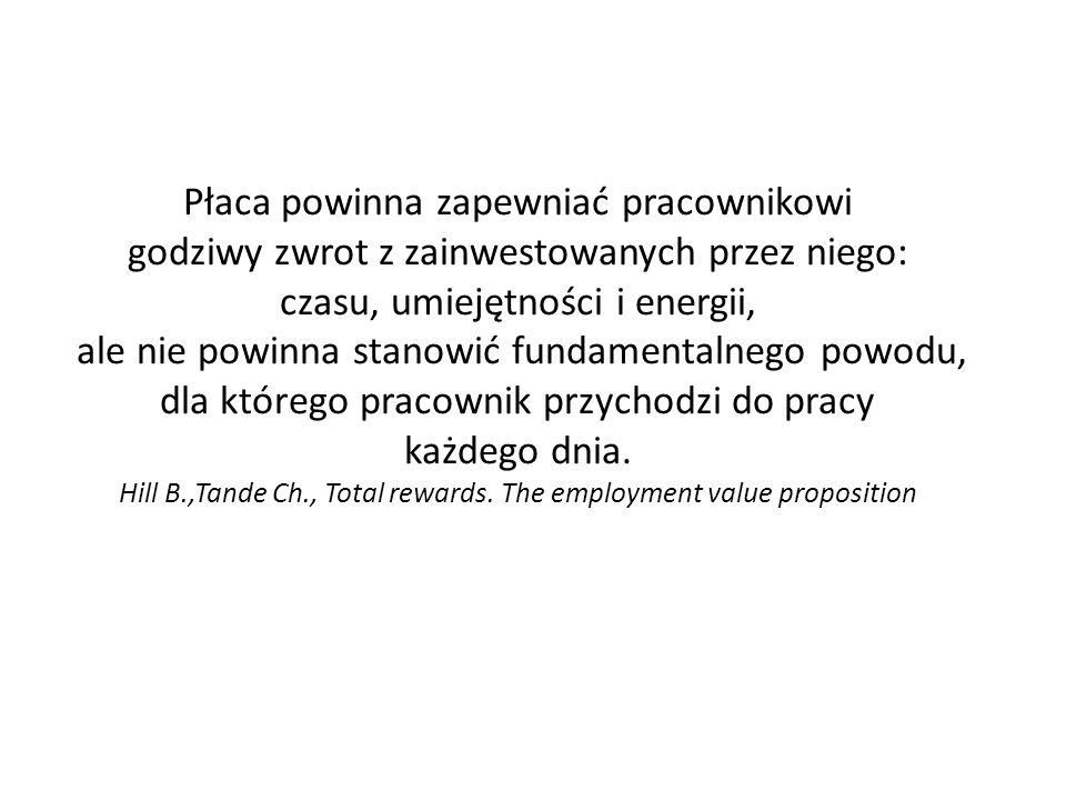 Co w nowej rzeczywistości jest zatem funkcją systemu wynagrodzeń.
