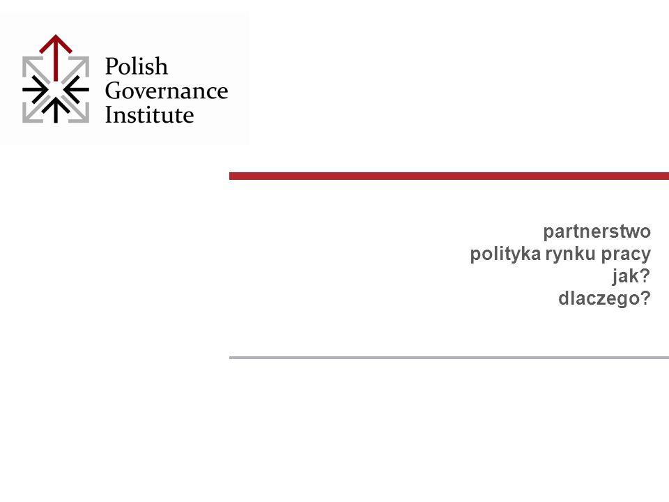 partnerstwo polityka rynku pracy jak? dlaczego?