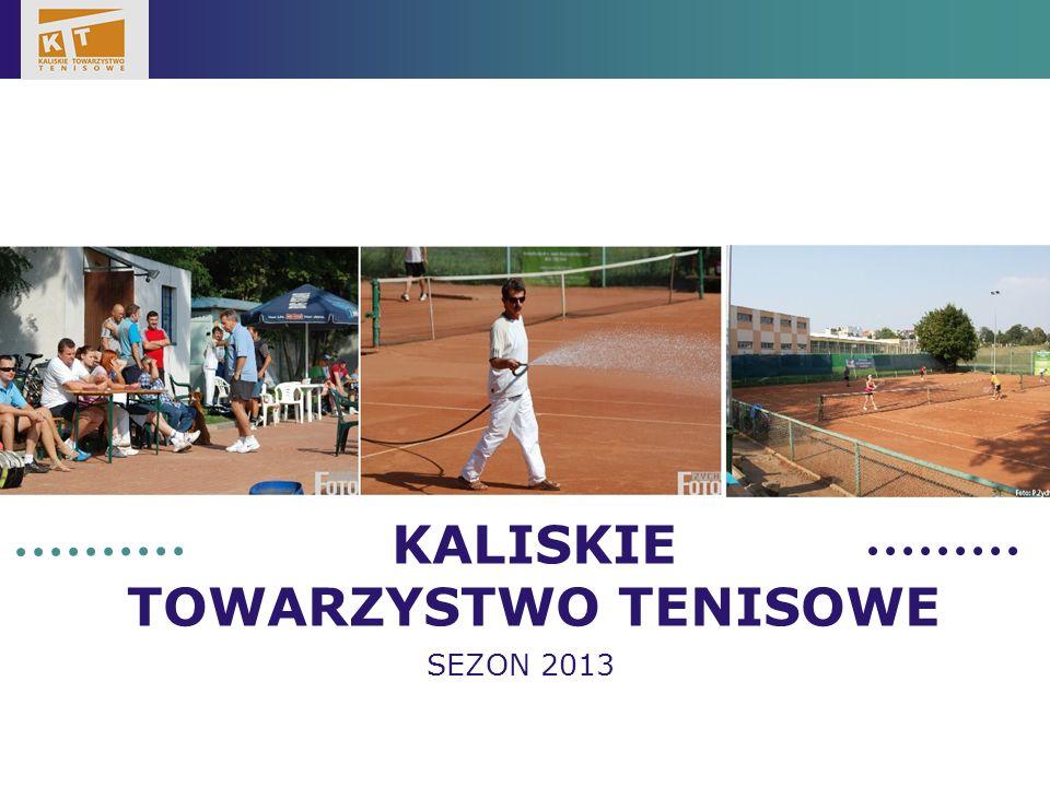 LOGO KALISKIE TOWARZYSTWO TENISOWE SEZON 2013