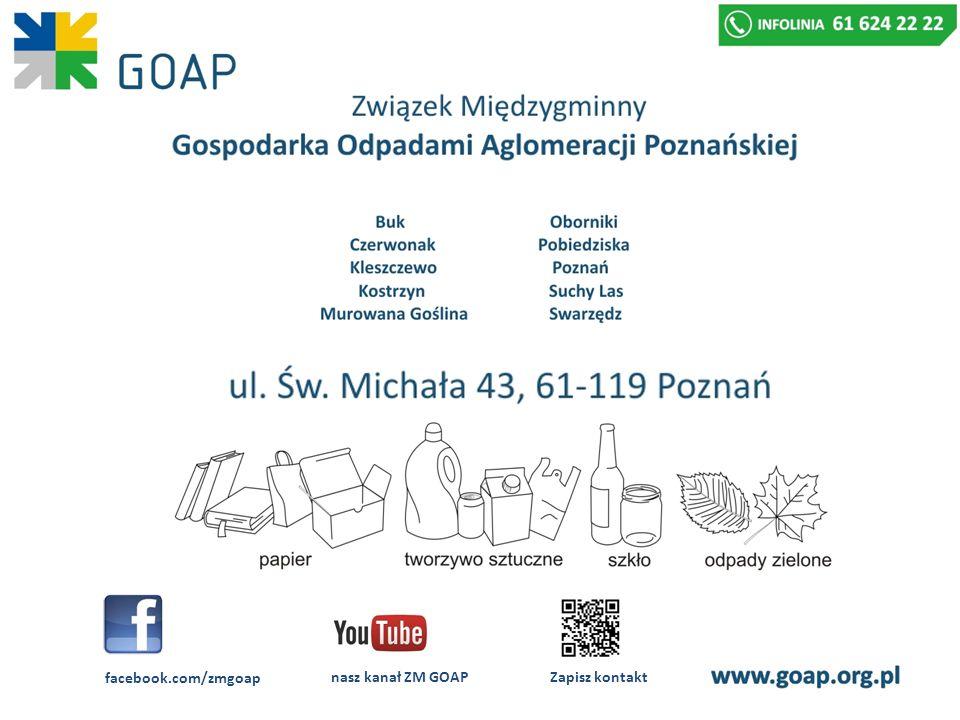 facebook.com/zmgoap nasz kanał ZM GOAP Zapisz kontakt