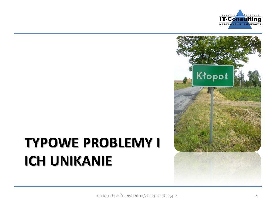 TYPOWE PROBLEMY I ICH UNIKANIE (c) Jarosław Żeliński http://IT-Consulting.pl/8