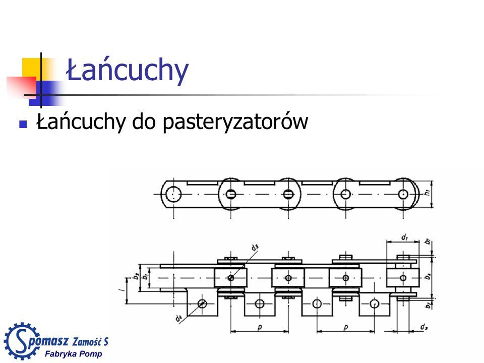 Łańcuchy Łańcuchy do pasteryzatorów