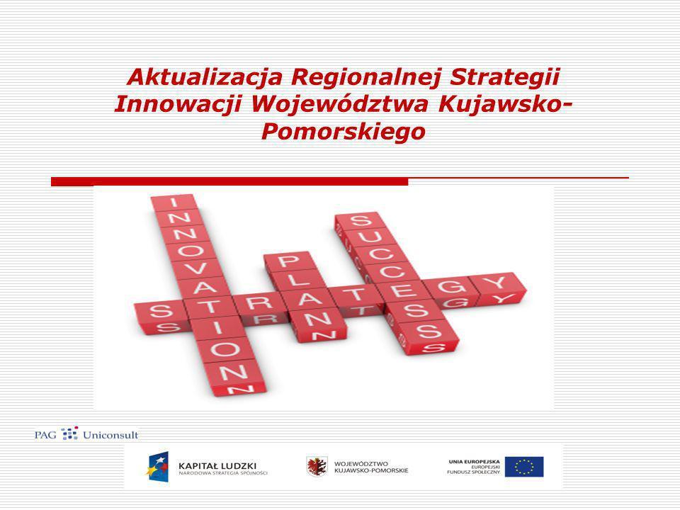 Aktualizacja Regionalnej Strategii Innowacji Województwa Kujawsko- Pomorskiego