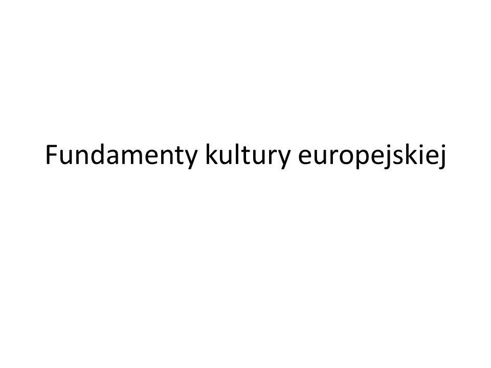 Fundamenty kultury europejskiej