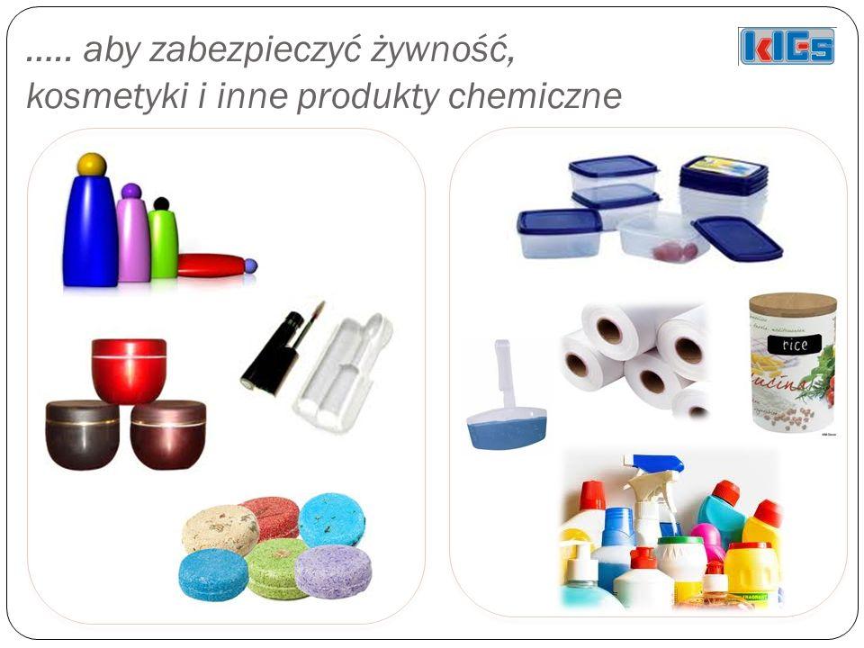 ….. aby zabezpieczyć żywność, kosmetyki i inne produkty chemiczne