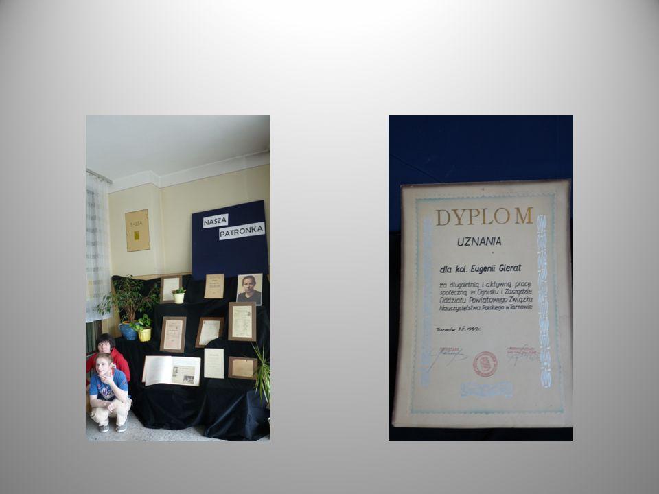 Uczniowie gimnazjum i szkoły zawodowej wzięli udział w konkursie literackim Eugenia Gierat – wzór człowieka i nauczyciela.