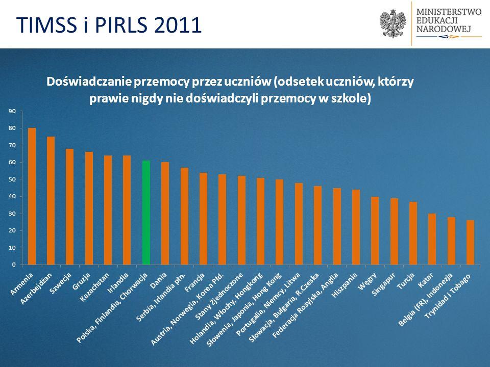Prezentacja wyników badań PIRLS 2011 oraz TIMSS 2011 prof.
