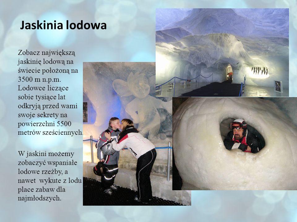 Jaskinia lodowa Zobacz największą jaskinię lodową na świecie położoną na 3500 m n.p.m. Lodowce liczące sobie tysiące lat odkryją przed wami swoje sekr