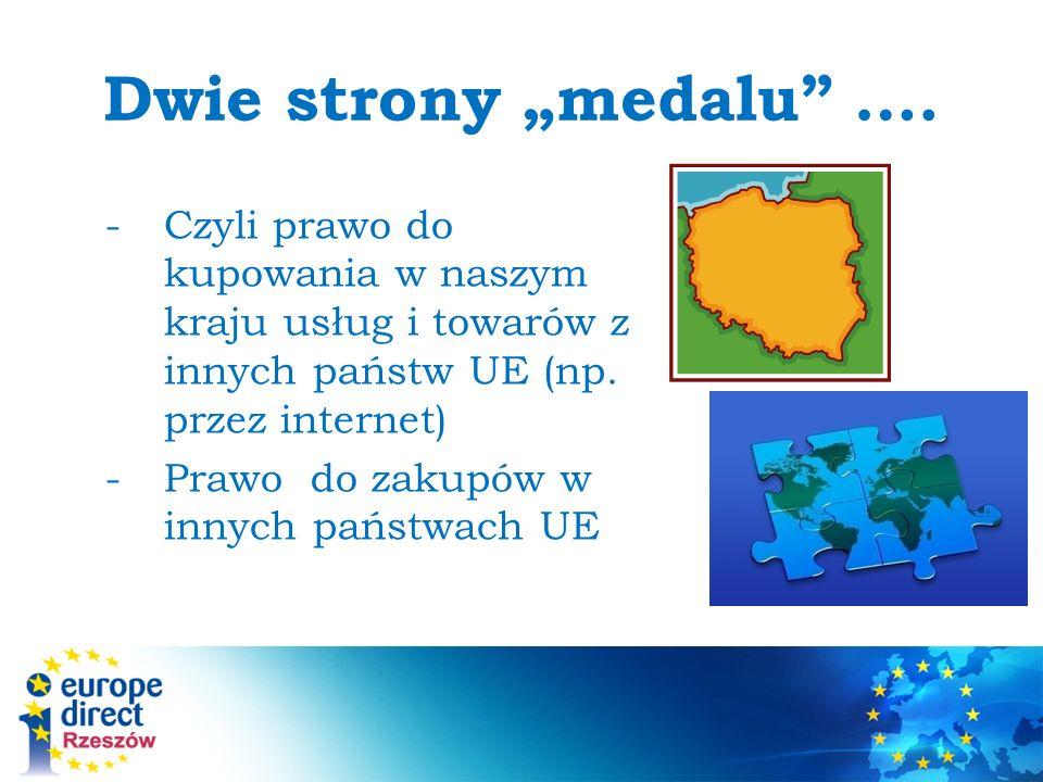 Dwie strony medalu ….