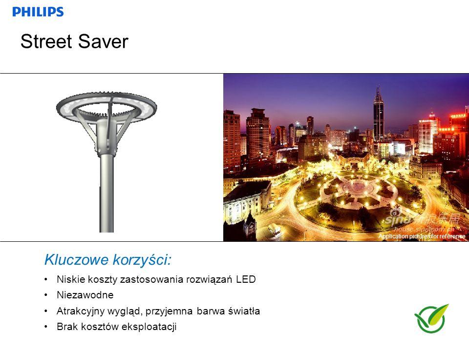 Marek Lorczyk, Styczeń 2012 Kluczowe korzyści: Niskie koszty zastosowania rozwiązań LED Niezawodne Atrakcyjny wygląd, przyjemna barwa światła Brak kos