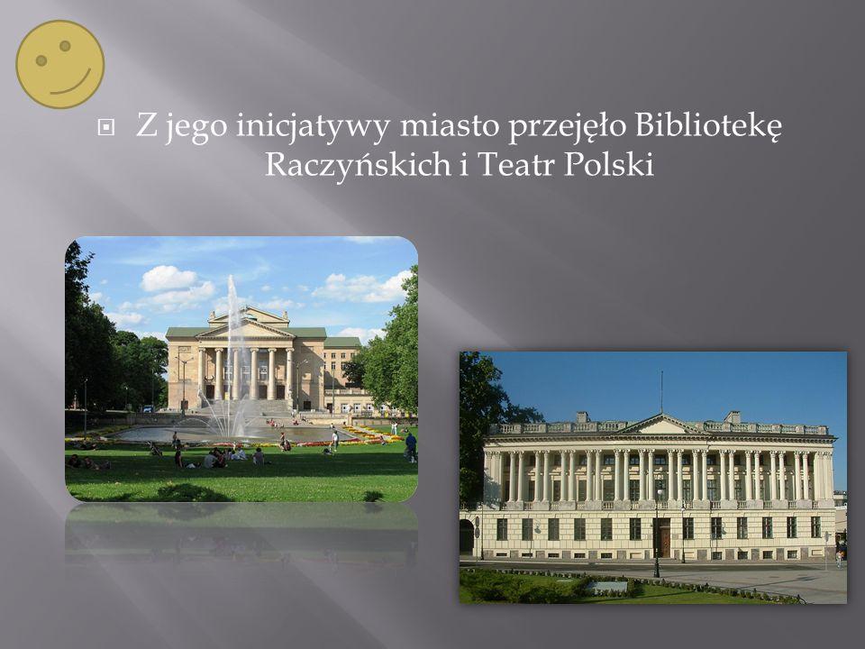 W maju 1921 roku z inicjatywy prezydenta odbyły się Targi Krajowe, dające początek Międzynarodowym Targom Poznańskim funkcjonującym do dziś.Międzynarodowym Targom Poznańskim
