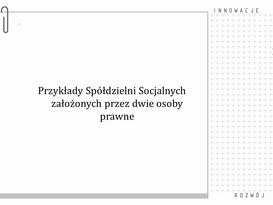 Spółdzielnia Socjalna Bydgoszczanka Założyciele: Miasto Bydgoszcz, Powiat Bydgoski www.bydgoszczanka.eu