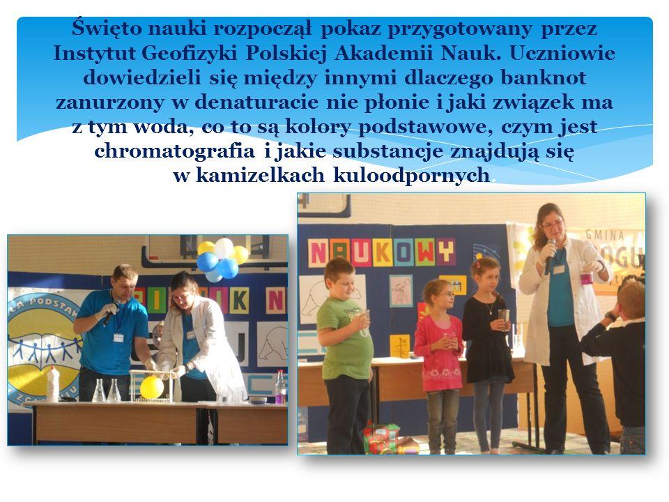 15.11.2012 r. w naszej szkole odbył się wspaniały Piknik Nauki zorganizowany w ramach Projektu EDUSCIENCE