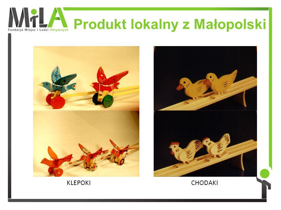 Produkt lokalny z Małopolski KLEPOKICHODAKI