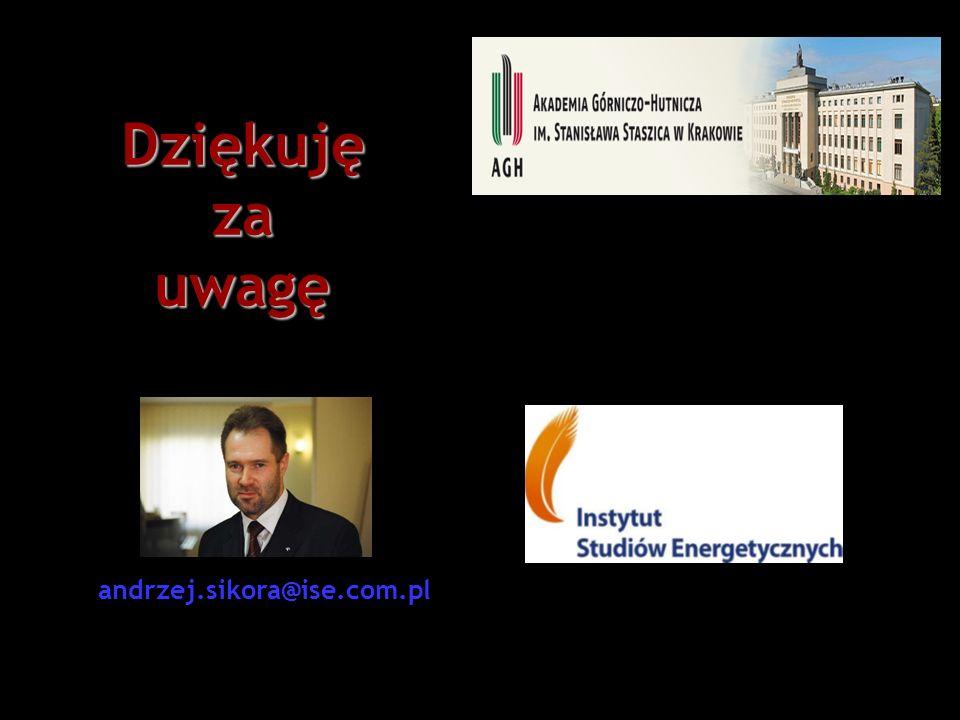 Dziękujęzauwagę andrzej.sikora@ise.com.pl
